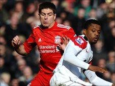 Liverpool skipper Steven Gerrard