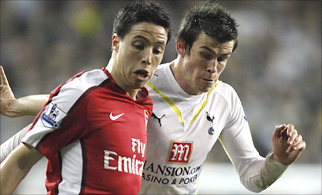 Samir Nasri and Gareth Bale