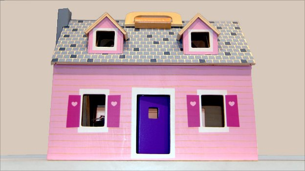 Dollhouse - photographed courtesy of Bebe Bisou