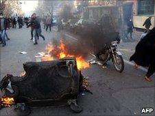 Tehran protest February 2011