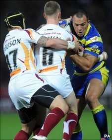 Huddersfield-Warrington