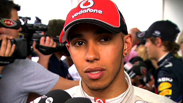 McLaren&#039;s Lewis Hamilton