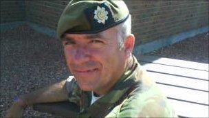 Col Sgt Alan Cameron