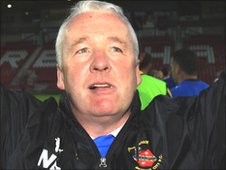 Bangor City manager Neville Powell