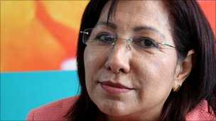 Maria Luisa Moreno, Ecuadorean minister responsible for indigenous people