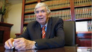 Luis Posada Carriles in El Paso, Texas, 8 April 2011