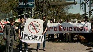 Dale Farm protest