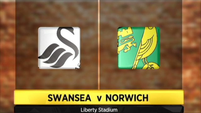 Graphic of Swansea v Norwich
