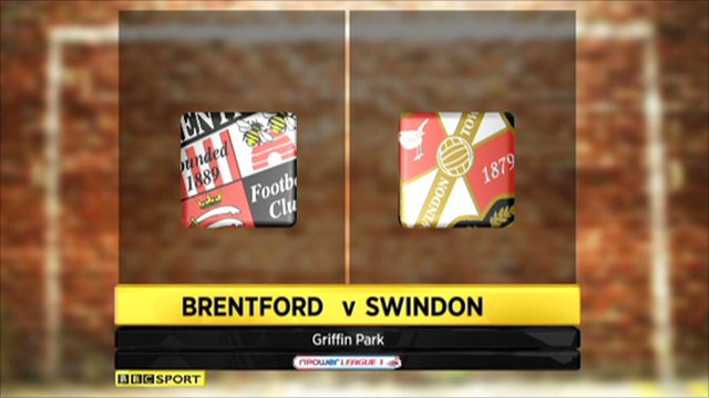Brentford 0 - 1 Swindon