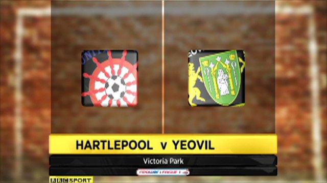 Hartlepool 3-1 Yeovil
