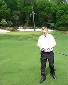 Ken Brown at Augusta