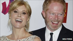 Julie Bowen and Jesse Tyler Ferguson