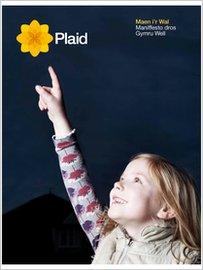 Clawr maniffesto Plaid Cymru