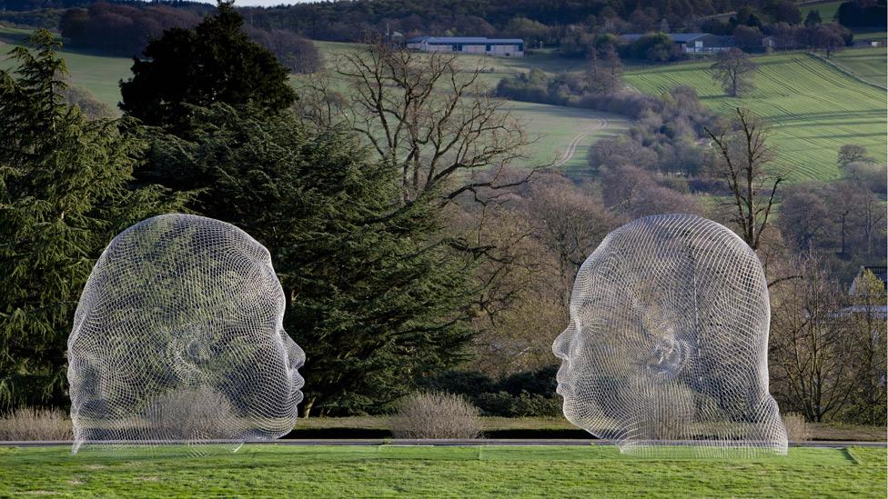 Yorkshire Sculpture Park The Heart Thrills