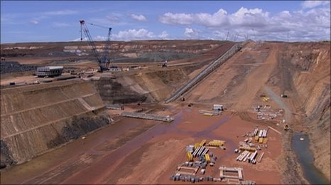 Sino Iron project in the Pilbara region, north-west Australia