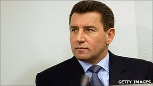 Ante Gotovina appears at the War Crimes Tribunal on December 12, 2005 in The Hague