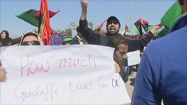 Benghazi protests