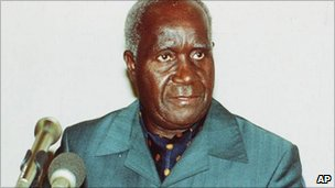 Kenneth Kaunda in 1991