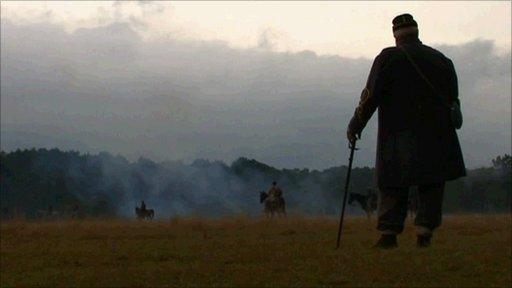 Battle reenactment in Charleston