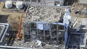 File photo of the Fukushima Daiichi Nuclear Power Station taken on 24 March 2011