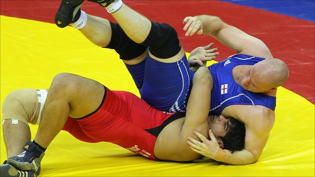 British wrestlers frustrated over the recruitment of foreign athletes