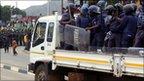 Swazi police (file photo)