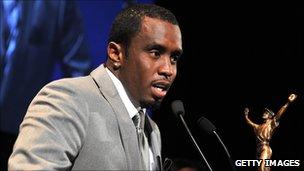 "Sean ""Diddy"" Combs at Jackie Robinson Foundation Awards Gala."