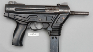 Weapon used in murder of Agnes Sina-Inakoju