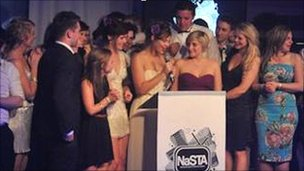 The NaSTA awards (Pic: Dave Bird)