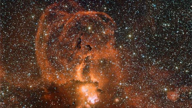 NGC 3582 nebula