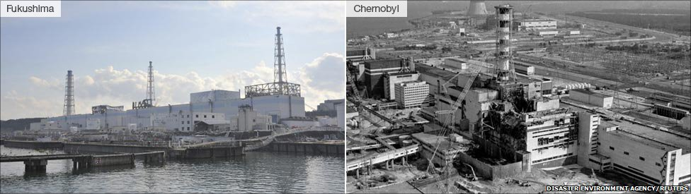 Fukushima and Chernobyl