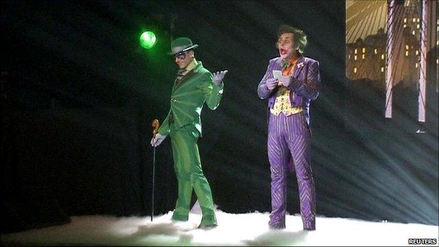 The Riddler and The Joker