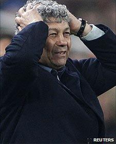 Shakhtar coach Mircea Lucescu