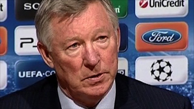 Manchester United boss Alex Ferguson