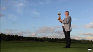 Colin Montgomerie with Ryder Cup
