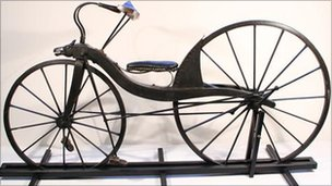 Kirkpatrick Macmillan's bicycle