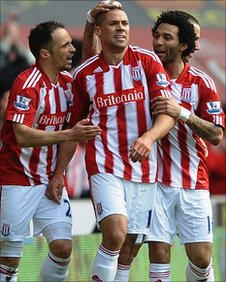 Matthew Etherington, Jonathan Walters and Jermaine Pennant