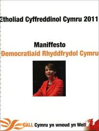 Clawr maniffesto'r Democratiaid Rhyddfrydol