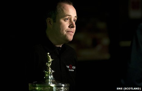 Snooker World Number One John Higgins