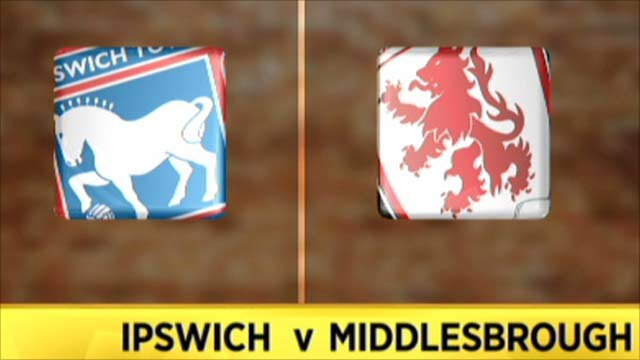 Highlights - Ipswich 3-3 Middlesbrough