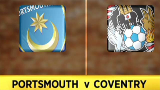 Highlights - Portsmouth 0-3 Coventry