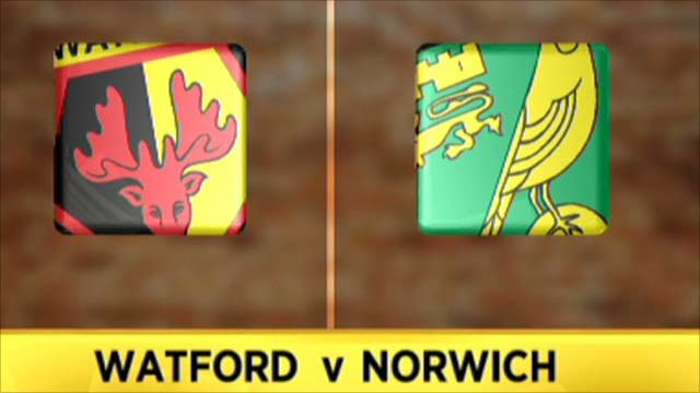 Highlights - Watford 2-2 Norwich
