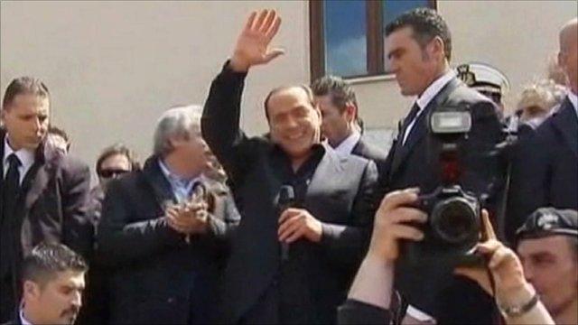 Italian prime minister nude