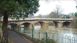Teme Bridge, Tenbury Wells