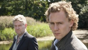 Kenneth Branagh with Wallander co-star Tom Hiddleston