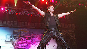 Iron Maiden singer Bruce Dickinson