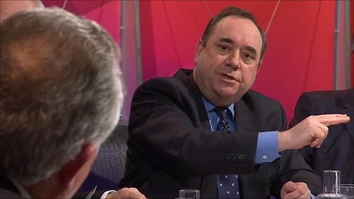 Peter Hain and Alex Salmond