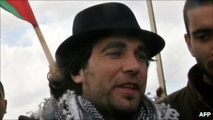 Vittorio Arrigoni in Gaza - 18 March 2010
