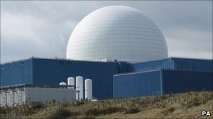 Sizewell nuclear power station