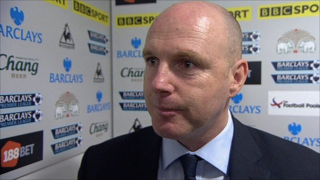 Blackburn manager Steve Kean